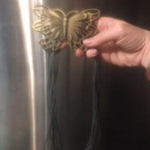Rare Butterfly Rope Tie Belt  (No Brand) -18